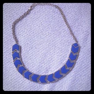 Amrita Singh Electric Blue Statement Necklace